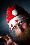 Spooky Santa Stock Photo