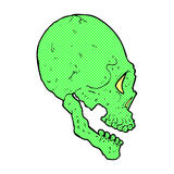 Spooky skull illustration Royalty Free Stock Images