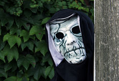 Spooky skull mask Stock Images