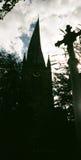 Spooky spire Stock Photo