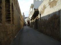 Spooky street. In Meddina, Sousse, Tunisia Stock Photos