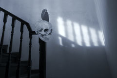 Spooky and surreal stairs Royalty Free Stock Photos