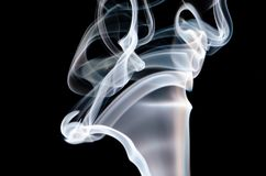 Dancing with the air: smoke from incense
