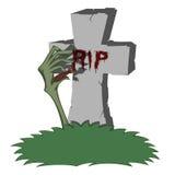 Spooky tombstone Stock Photos