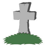 Spooky tombstone Royalty Free Stock Image