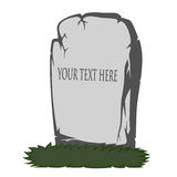 Spooky tombstone Royalty Free Stock Images