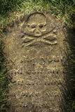 Spooky Tombstone Royalty Free Stock Photo