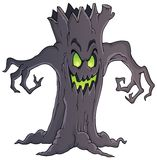 Spooky tree theme image 1 Stock Photos