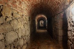 Spooky tunnel Stock Photography