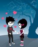 Spooky Valentine Stock Photo
