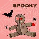 Spooky voodoo halloween