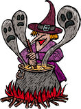 Spooky Witch Stock Images