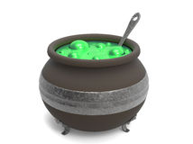 Spooky witch's cauldron Stock Photography