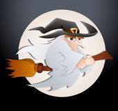 Spooky Witch Vector Stock Photography