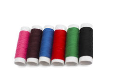 Spool colored thread Royalty Free Stock Photo