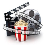 Spool and film Royalty Free Stock Image