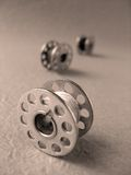 Spool For Sewing Machine(macro) Royalty Free Stock Photos