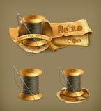 Spool Of Thread, Vector Icons