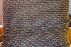Spool of rope Stock Images