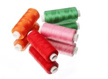Spool sewing thread Royalty Free Stock Photo