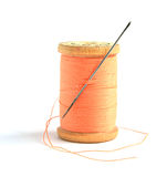 Spool with thread Royalty Free Stock Image