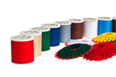 Spool of thread Royalty Free Stock Photo