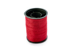 Spool of thread isolated over the white background Royalty Free Stock Images