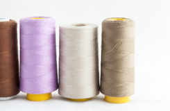 Spool of thread isolated on white background Stock Images