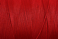 Spool of thread macro background Royalty Free Stock Photo