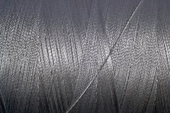 Spool of thread macro background Stock Photo