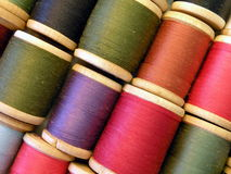 Spool with thread Stock Images
