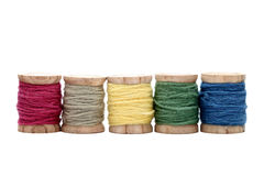 Spool of threads Royalty Free Stock Photos