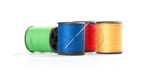 Spool of threads Stock Photography