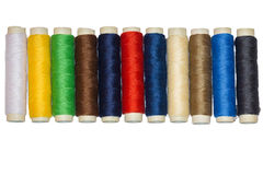 Spool of threads Stock Images