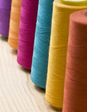 Spool of threads royalty free stock photo