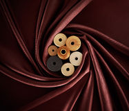 Spool of threads Stock Image