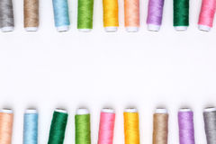 Spool of threads  Royalty Free Stock Photography