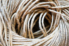 Spool of twine. On close-up Stock Photo