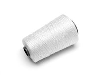 Spool white thread Royalty Free Stock Image