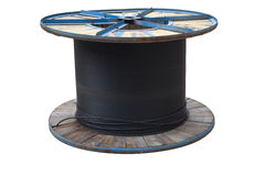 Spool of wire Stock Images