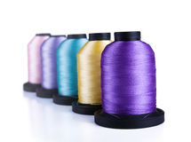 Spools Royalty Free Stock Photo