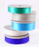 Spools of Ribbon Stock Photo