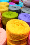 Spools of sewing threads Royalty Free Stock Photos