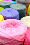 Spools of sewing threads Royalty Free Stock Image