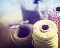 Spools of String Royalty Free Stock Photography