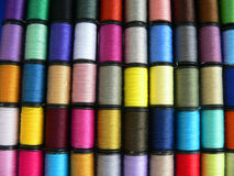 Spools of Thread. Close-up Royalty Free Stock Photography