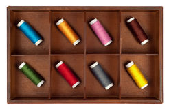 Spools of thread Stock Photography