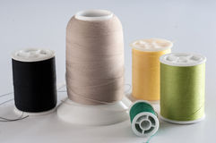 Spools and thread Stock Photography