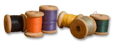 Spools of thread Stock Image