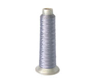 Spools of thread isolated on white background Stock Image